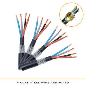 SWA Cable 4 core