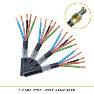 SWA Cable 5 core