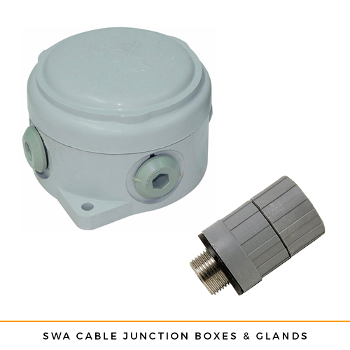 SWA Cable Junction Boxes and Glands IP68